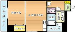 アンジェロポストⅦ[9階]の間取り