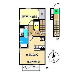 ベガ[2階]の間取り
