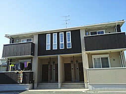 静岡県浜松市東区白鳥町の賃貸アパートの外観