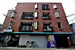 大阪府大阪市東住吉区杭全4丁目の賃貸マンションの外観