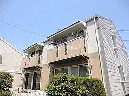 岡山県岡山市南区泉田3丁目の賃貸アパートの外観