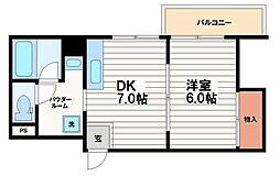 日宝ア・ラ・メゾン[10階]の間取り