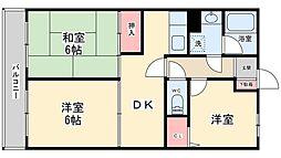 サンコート上本郷[3階]の間取り