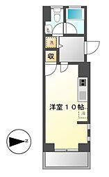 エンショウクワトロ[7階]の間取り