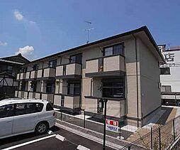 京都府京都市西京区牛ヶ瀬青柳町の賃貸アパートの外観