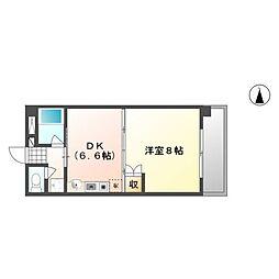 サンシャイン平田[3階]の間取り