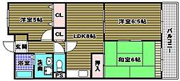 グランドハイツ杉田I[1階]の間取り