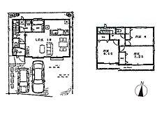 A号棟建物プラン 建物価格1、070万円(税込)