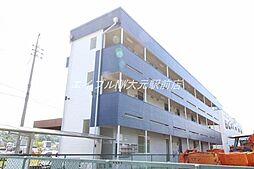 岡山県岡山市北区富原の賃貸アパートの外観
