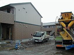 長野県松本市井川城1丁目の賃貸アパートの外観