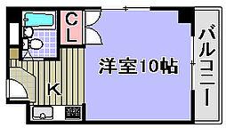 シーサイドパレス堺町[503号室]の間取り