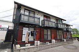 岡山県岡山市北区北長瀬本町の賃貸アパートの外観