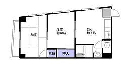 第一徳山ビル[4階]の間取り