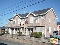 福岡県糟屋郡須惠町大字新原の賃貸アパートの外観