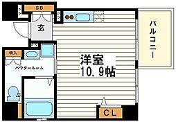 ヴェルデカーサ高津[11階]の間取り
