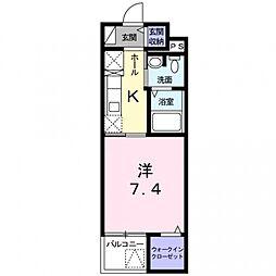 Animate Konishi[4階]の間取り
