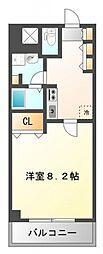 ドライバウム江坂[10階]の間取り