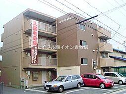 岡山県倉敷市白楽町の賃貸マンションの外観