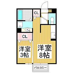 和音館NOBU[2階]の間取り