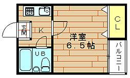 ラトゥール林[4階]の間取り