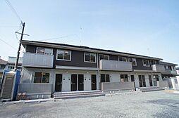 ハイネス湊高台[2階]の外観