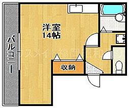 エミネント21[5階]の間取り