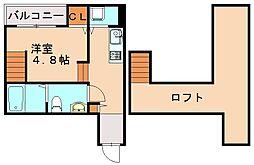 コージーフォート[1階]の間取り