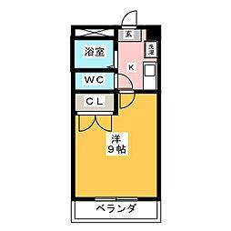ロハシーK[1階]の間取り