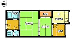 [一戸建] 大阪府守口市橋波西之町2丁目 の賃貸【/】の間取り