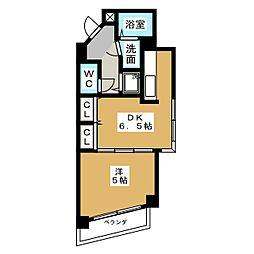 ポンドサイド蓮 パートI[1階]の間取り