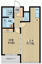 S-FORT西船橋[0105号室]の間取り