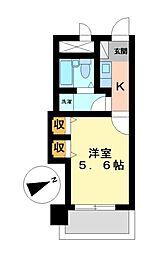 セピアパレスタケミ[2階]の間取り