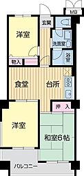 WELFARE YAMASAKA[0401号室]の間取り