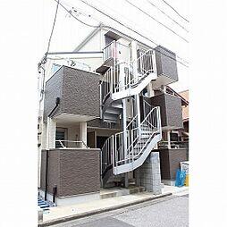 東京都足立区中川2の賃貸アパートの外観