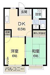 寿紅シティ[2階]の間取り