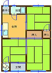 平松駅 3.3万円