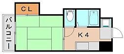 ドミールケンゾー[2階]の間取り