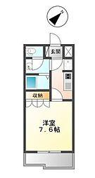 YUKARI[1階]の間取り