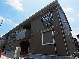 千葉県柏市東中新宿1丁目の賃貸アパートの外観