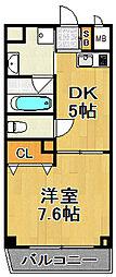 Jクレスト・ドーム前[5階]の間取り