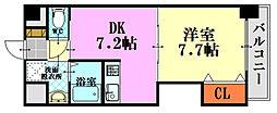 NKSビル[304号室]の間取り