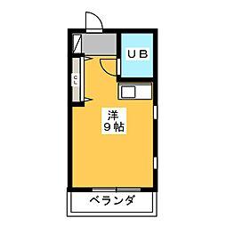 FUWA HOUSE[3階]の間取り