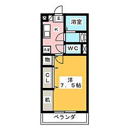 メイスコーレ[1階]の間取り