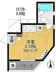 m・フェリーチェ[3階]の間取り