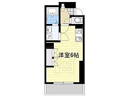 フォレストメゾン覚王山南[1階]の間取り