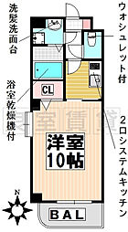 愛知県名古屋市千種区日和町3丁目の賃貸マンションの間取り