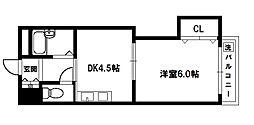 上新庄グランドハイツ[2階]の間取り