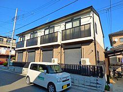 埼玉県越谷市東越谷7丁目の賃貸アパートの外観