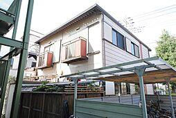 埼玉県越谷市花田1の賃貸アパートの外観