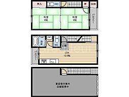 [一戸建] 大阪府大阪市城東区鴫野西5丁目 の賃貸【/】の間取り